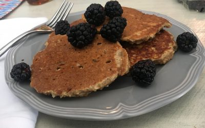 Truly Whole Grain Weekend Pancakes