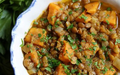 Soup of the Week: Lentil and Sweet Potato Stew