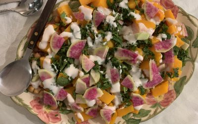 Salad of the Week, Part One: Roasted Butternut Squash & Chickpeas